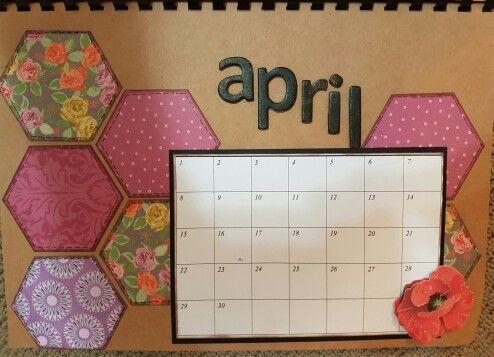 April perpetual calendar