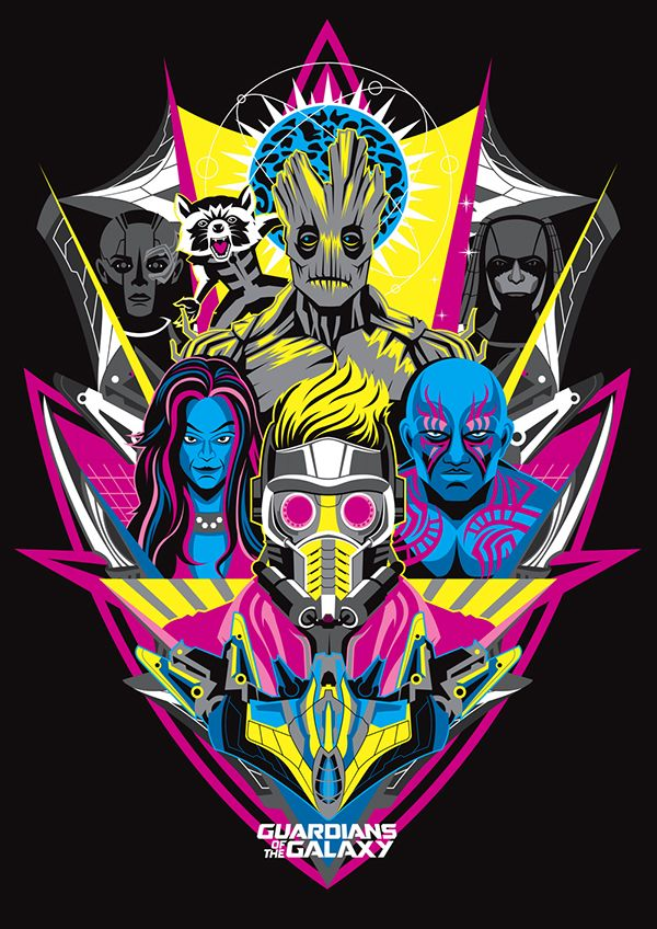 Image result for guardians of the galaxy alt poster