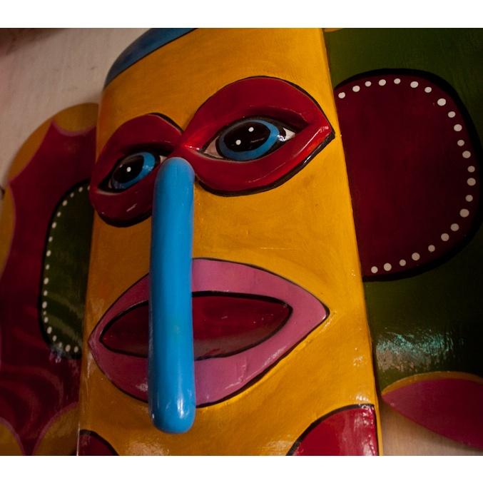 Máscara del Carnaval de Barranquilla. Colombia