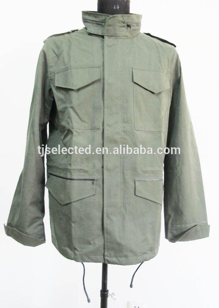 OEM Service means polyester/cotton/nylon Men's Army parka jackets