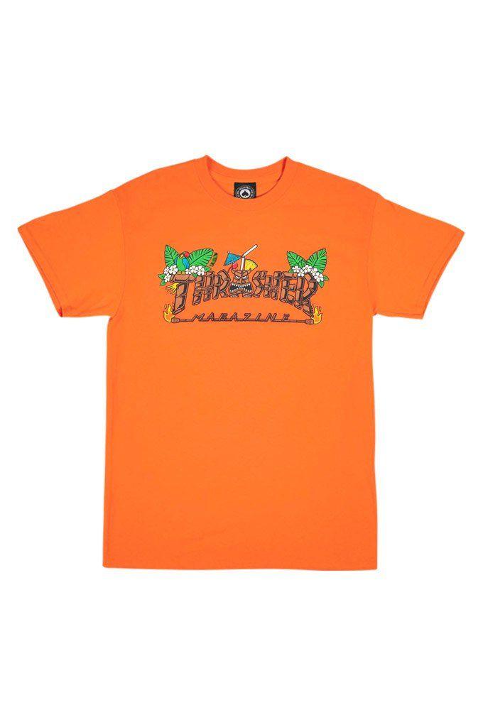 34cf33fad607 Thrasher Tiki Tee in 2019   Men's Clothing   Thrasher, Thrasher magazine,  Tees