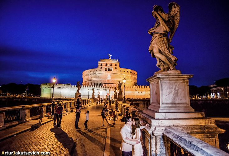 Engagement in Italy pre wedding photography in Rome | by photographer Artur Jakutsevich based in Rome, Italy
