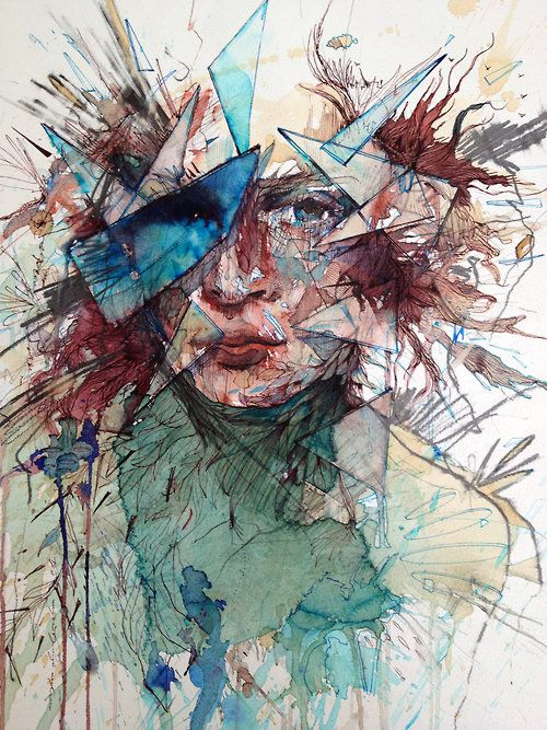 This speaks to me. Has a deeoer meaning then just a picture. I love love this!!!!  Carne Griffiths