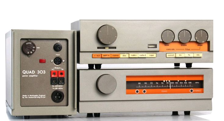 QUAD 303 FINAL QUAD 33 PRE - FM 3 TUNER