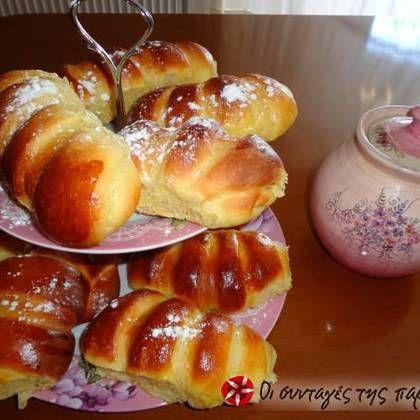 Τσουρεκάκια- κρουασανάκια #cookpadgreece #krouasanakia #tsourekakia