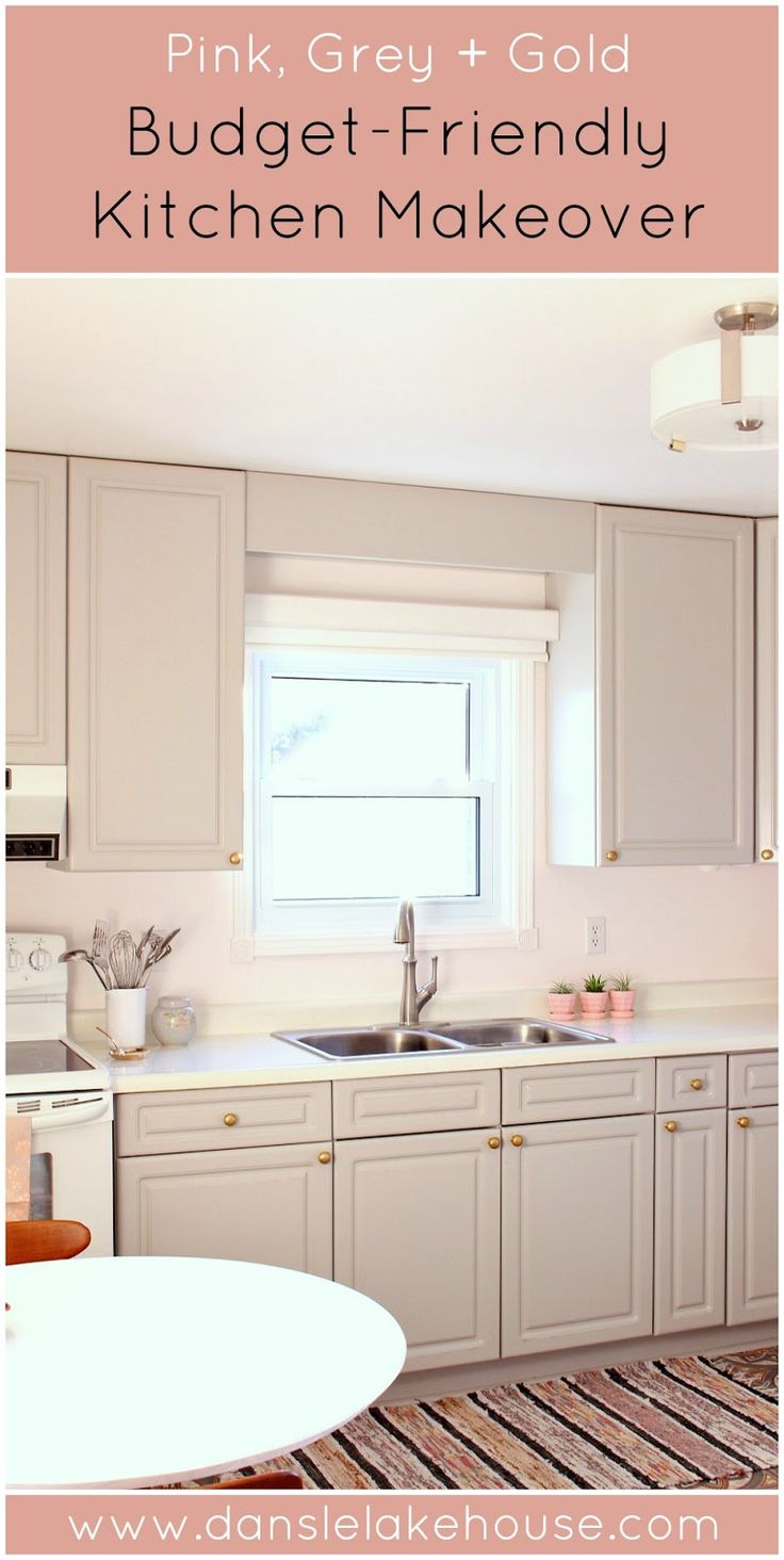 Diy Budget Friendly Kitchen Makeover Blogger Home