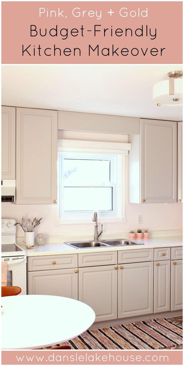 DIY BudgetFriendly Kitchen Makeover  Blogger Home