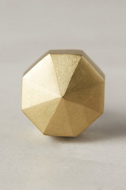 Faceted Ory Knob #anthropologie