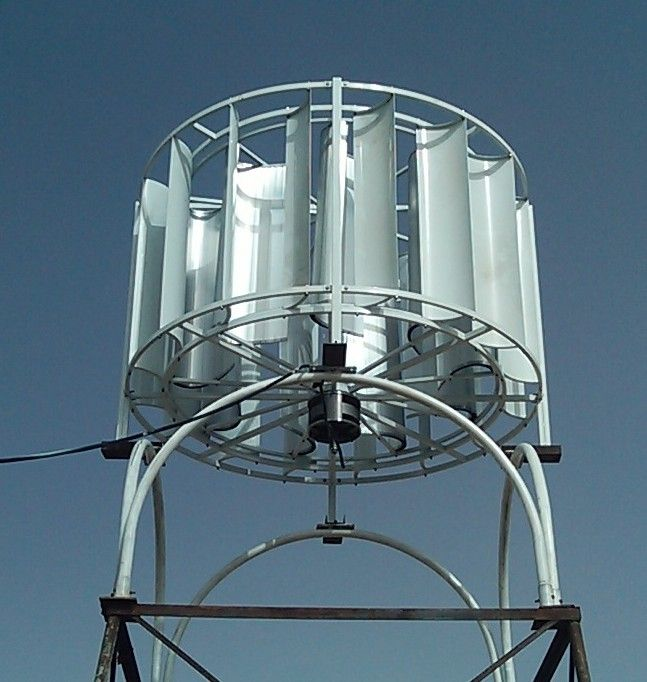 1-20kw New Wheel-Type on/off Grid Vertical Axis Wind Turbine