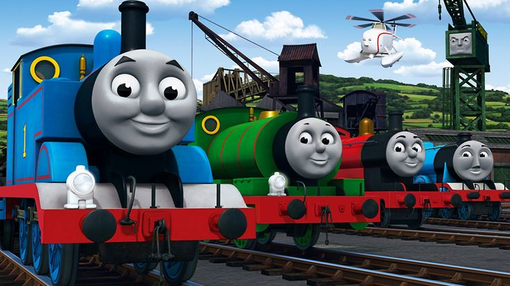 Паровозик томас на русском, Томас и его друзья готовят сюрприз!