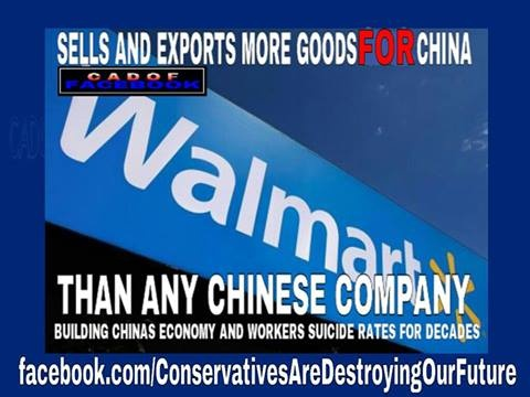 walmart has some very immoral business values. look them up.