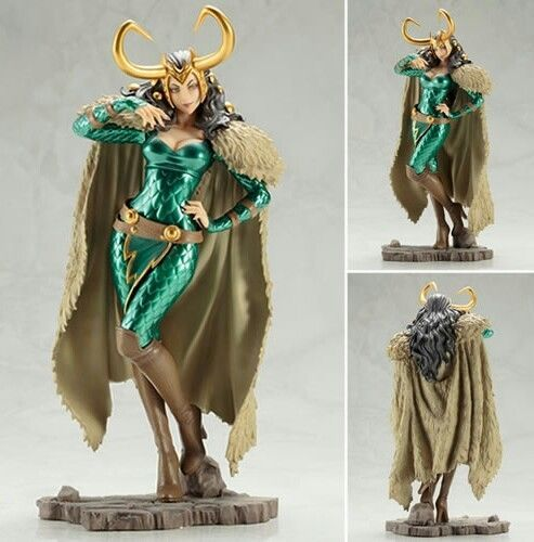 KotoBukiya Marvel Lady Loki Bishoujo Statue Figure IN STOCK USA SELLER FAST SHIP #Kotobukiya