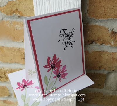 Stampin' with Nanna: Stepping It Up!
