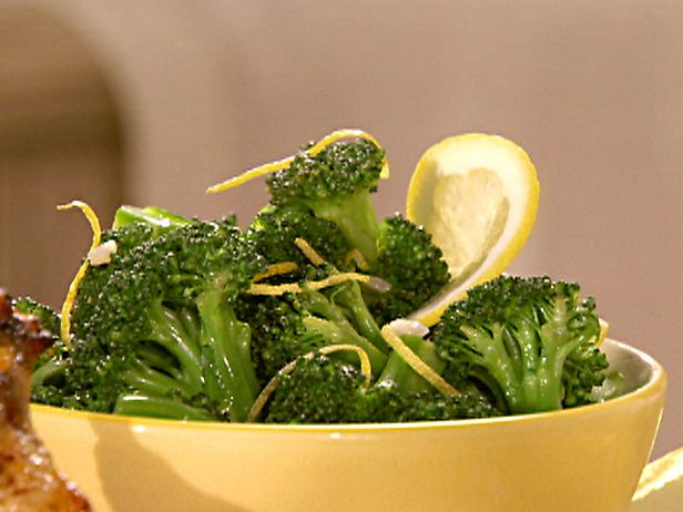 Steamed Broccoli with Lemon Butter | Must Try Recipes | Pinterest