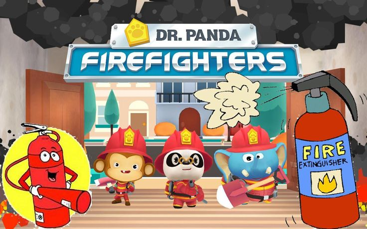 Dr. Panda Firefighters - Best App For Kids Games - full GAMEPLAY