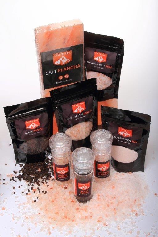 Sinds kort hebben we ook het Himalayazout (grof, gewoon en gerookt), de Black Pepper en Salt Plancha's van Crystal Salt in ons assortiment. Smaakmakers voor iedere braai! Bestel snel op: www.onsgaanbraai.nl