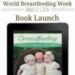 BOOK LAUNCH- Breastfeeding Multiples! part of #LatchOnLinkUp celebrating National #breastfeeding Month