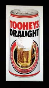 Big Tooheys New Sticker, Perfect for your bar of fridge! Get it from mAntique Australia.