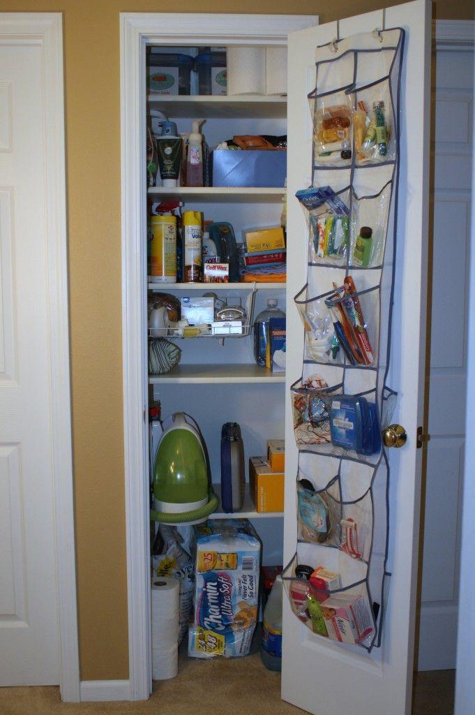 Using Every Last Bit Of Closet Space. Linen Closet OrganizationOrganisation  IdeasStorage ...