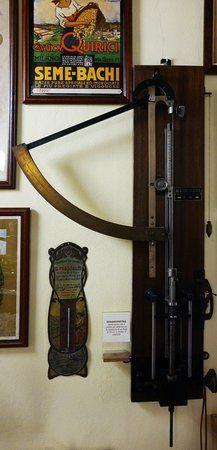 Dinamometro, Museo della seta di Soncino
