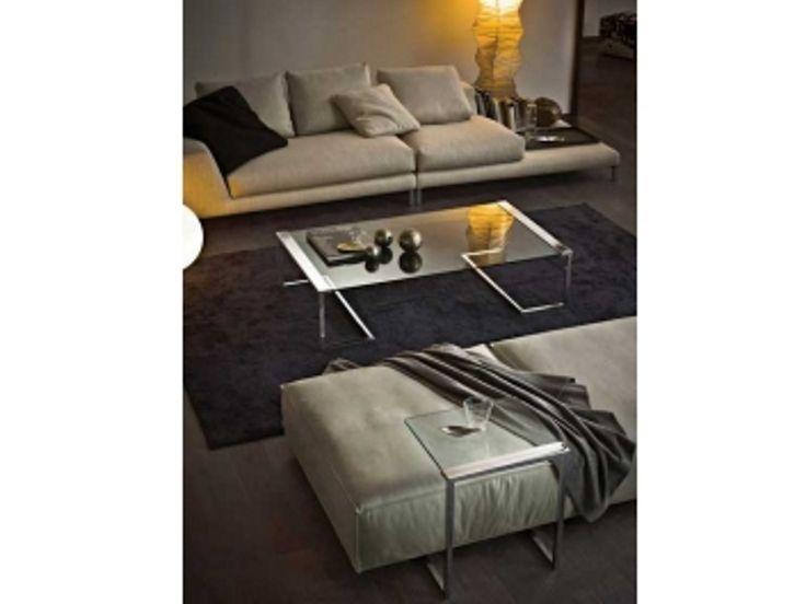 Coffee Table / Contemporary / Metal / Tempered Glass   SIR By Pierangelo  Gallotti   Gallottiu0026Radice