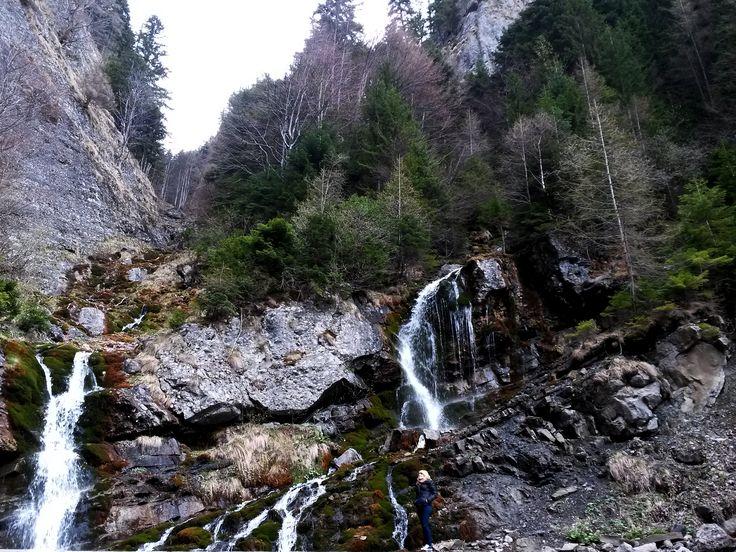 Valea Spumoasa, Romania #mountains, #waterfall