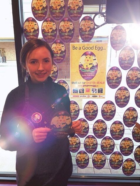Shout out to our customers and stores on the great job of supporting Easter Seals.  Everyone do your part and visit Booster Juice to pick up a paper Egg today.  Thank you one and all for your support!