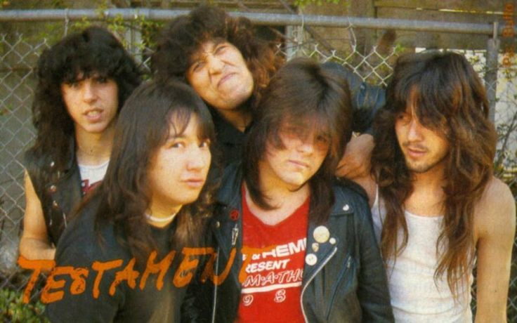 Testament   band   thrash metal  <3