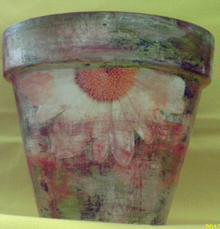 painting on clay pots - Google Search