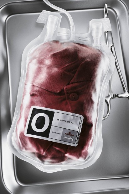 Blood donation is not an off-the-rack purchase..It's a gift of love.