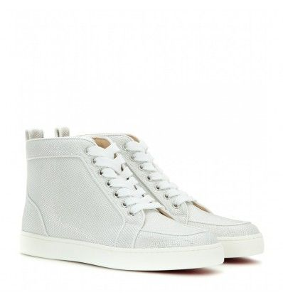 Silberne High-Top-Sneakers Rantus Orlato By Christian Louboutin