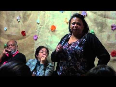 CAROLINA, minha mãe... Vera Eunice no CEU Alvarenga