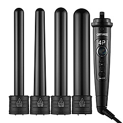 Amika 4P Interchangeable Barrel Curler Set: Shop Flatirons, Stylers & Curlers |