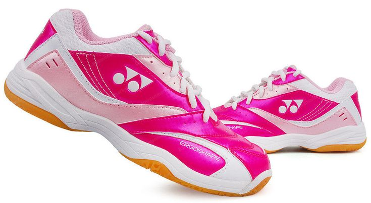Yonex Women's Badminton Shoes Power Cushion Pink White Laides Racquet SHB-49LCEX #YONEX