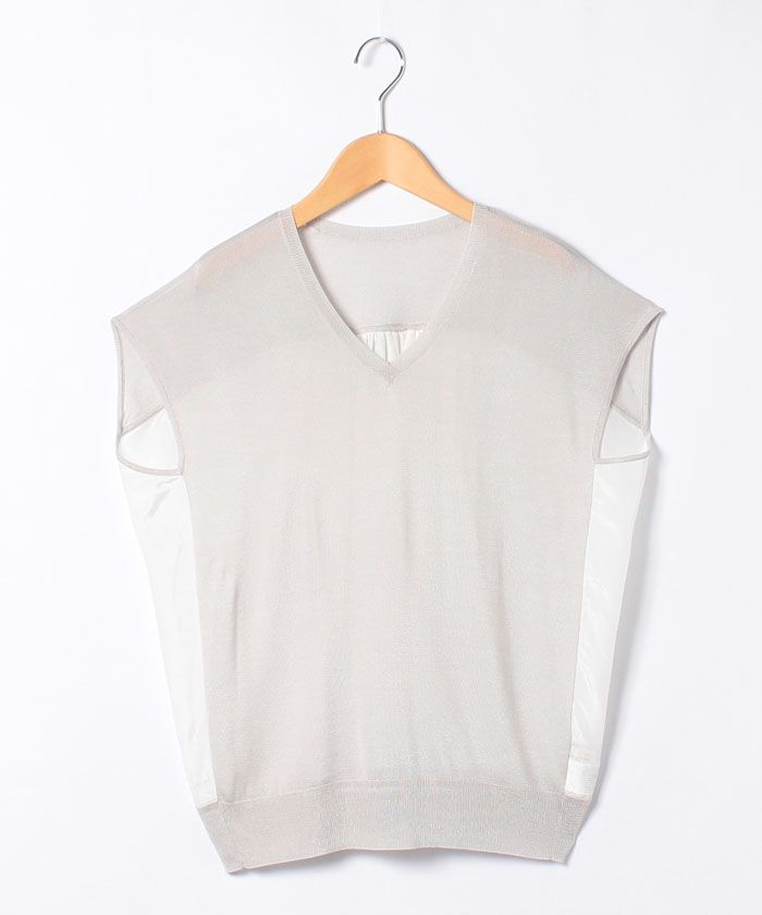 レーヨンコンビ Vネックプルオーバー-DES PRES(DES PRES) | 全品送料無料 | レディース・メンズ ファッション通販…