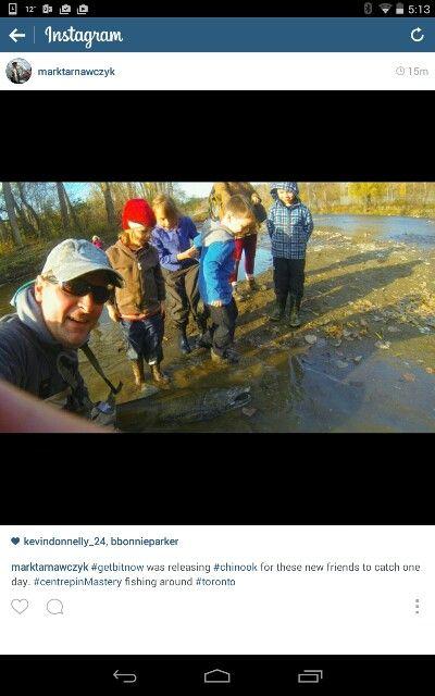 Take a kid Salmon Fishing in Toronto!