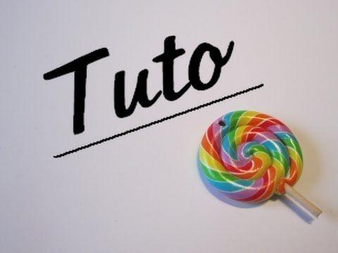 sucette multicolore