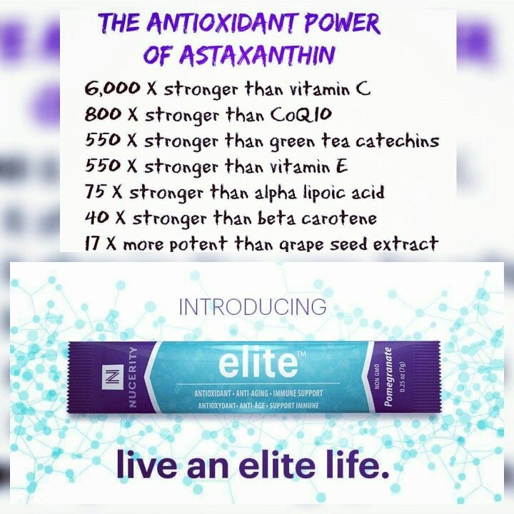 "THE MOST POWERFUL ANTIOXIDANT AND ADAPTOGEN ON THE PLANET & IT'S IN OUR ""ELITE""! Order yours today at the special pre-launch price! Will ship the week of November 7th! www.buynucerity.com/153418"