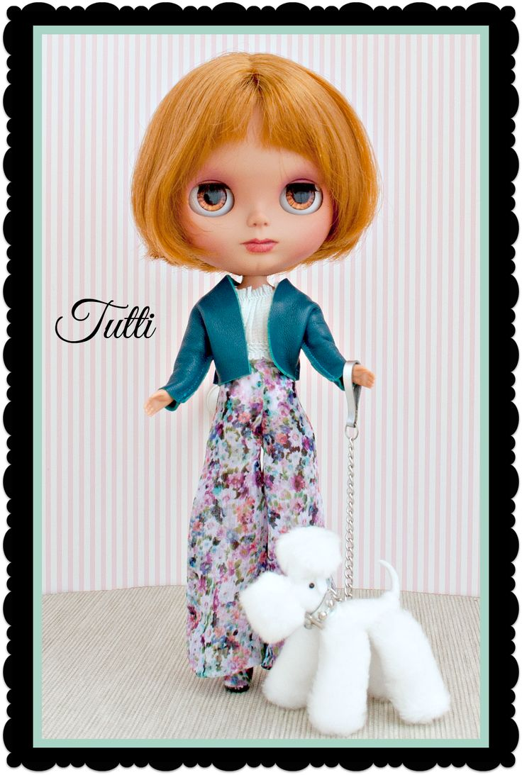 Tutti, our BEA Tutorial doll.  See her created from start to finish in our new Tutorial series at BlythEverAfter.com