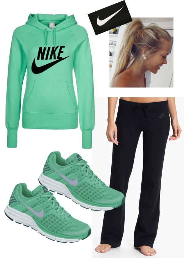 61 best images about sports polyvore on Pinterest | Sports Workout outfits and Cheap nike
