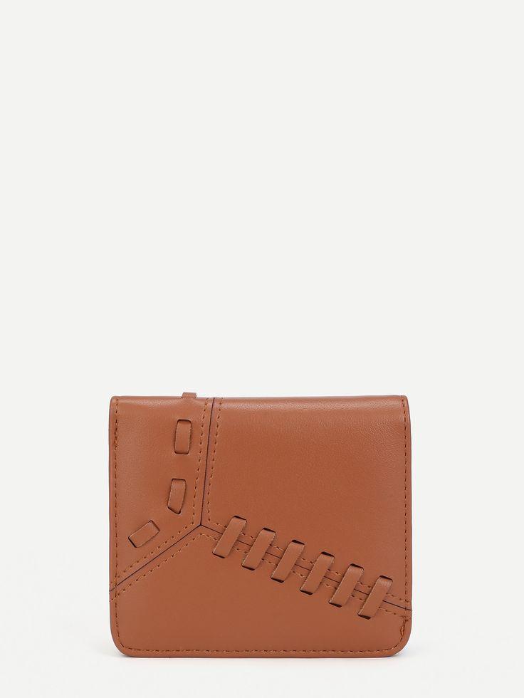 Shop Whipstitch Design PU Purse online. SheIn offers Whipstitch Design PU Purse & more to fit your fashionable needs.