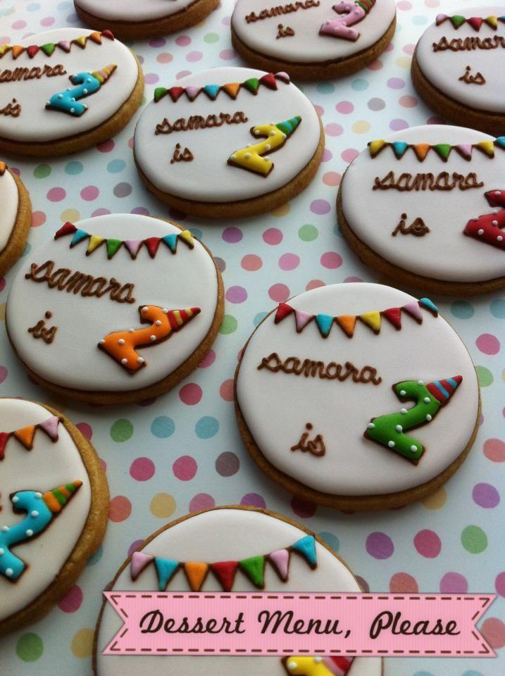 Birthday cookies...ADORABLE!!