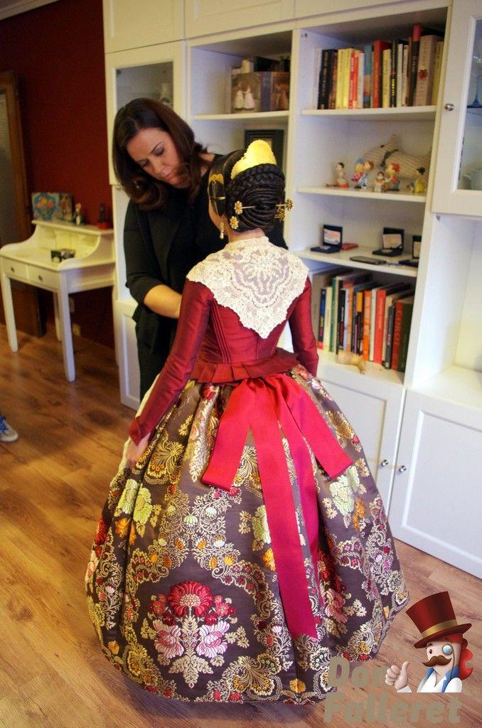 trajes fallera mayor infantil de valencia 2016 - Buscar con Google