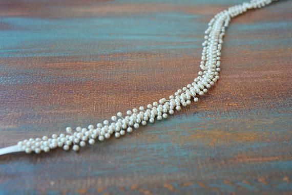 Pearl wedding belt, wedding belt, wedding belt and sashes