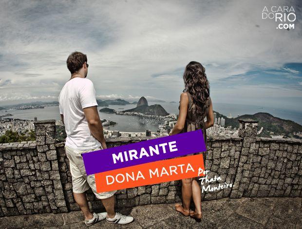 No blog tem passeio ao Mirante Dona Marta, ponto turístico obrigatório no Rio! Conto como chegar lá, vem ver http://acaradorio.com/mirante-dona-marta/