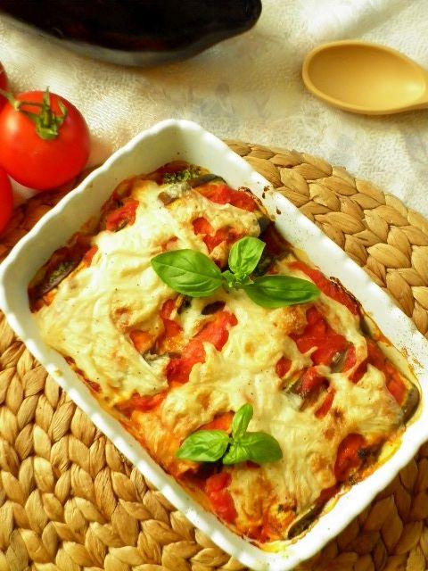 Cannelloni di melanzane al pomodoro - vegan e senza glutine