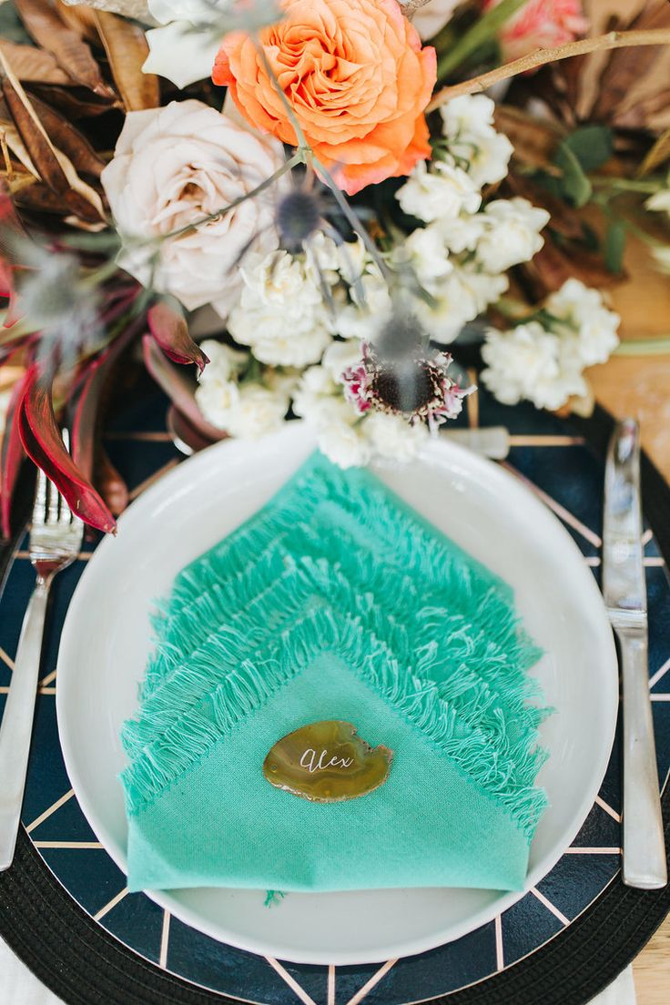 Bloodwood Botanica | Bohemian bright wedding table setting