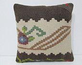 16x16 decorating kilim pillow ancient throw pillow wholesale decorative pillow boho chic throw pillow bed cushion cover aztec pillows 24473