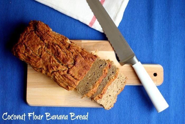 HONEYGOLIGHTLY: Coconut Flour Banana Bread  http://www.honeygolightly.com/2014/05/coconut-flour-banana-bread.html  #coconutflourbananabread #bananabread #recipe #glutenfree #bread #coconutflour