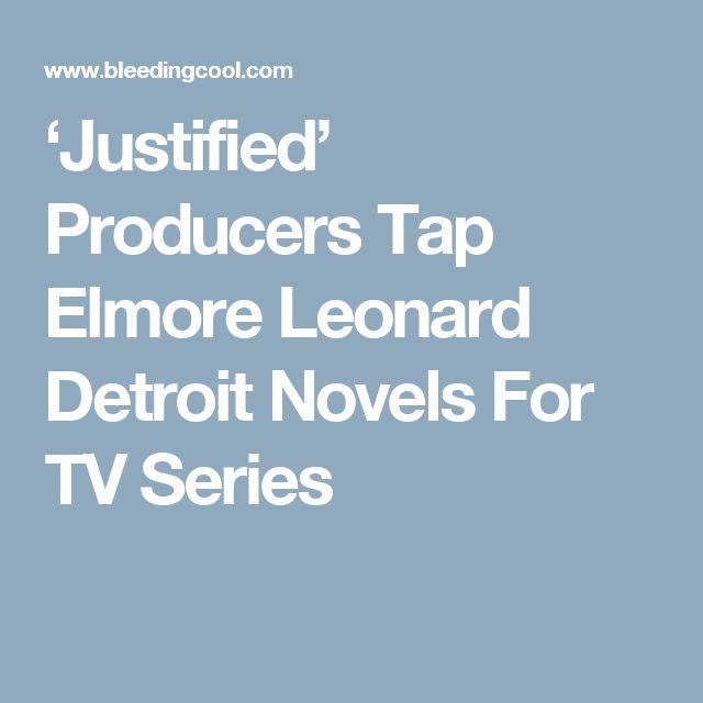 'Justified' Producers Tap Elmore Leonard Detroit Novels For TV Series